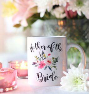 Potisk hrnku na svatbu