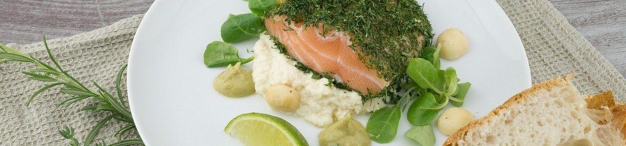 Zdravé jídlo - losos