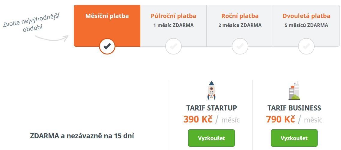 Ceník: Eshop-rychle.cz