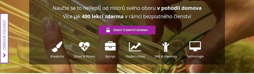 Screen webu Kurzyproradost.cz
