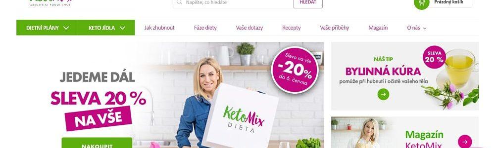 Úvodní stránka Ketomix.cz