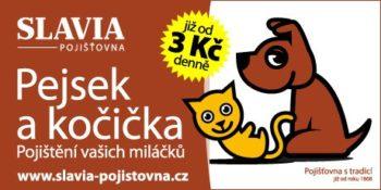 Slavia - pojištění mazlíčků